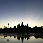 Sunrice at Angkor Wat 01